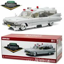 Precision Collection PC-18004 1959 White Cadillac Ambulance Diecast 1:18 NEW!