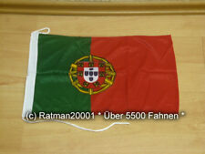 Fahnen Flagge Portugal Bootsfahne Tischwimpel - 30 x 45 cm