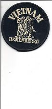 **   VIETNAM REMEMBERED EMBROIDERED PATCH    (320BX)