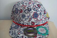NEW WITH TAGS FRESH THE SNAPBACK CO CAP HAT SIZE 1 SIZE FITS ALL PAISLEY ALL OV