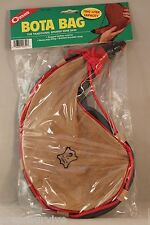 2 LITER BOTA BAG FINE GOATSKIN LEATHER POLY LINED BRAIDED STRAP FROM SPAIN