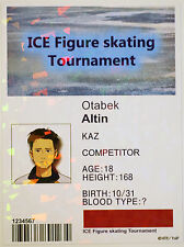 Otabek Altin Bromide - Figure Skating Pass - Official Yuri on Ice cosplay card