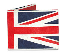 Dynomighty UK UNION JACK FLAG brit style bifold MIGHTY WALLET made tyvek DY-616