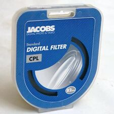 Jacobs  Digital 82mm CPL Circular Polariser Filter UK B&W Hoya CIR-PL
