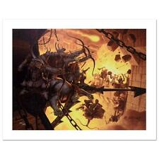 Siege Minas Lord of the Rings   Greg Hildebrandt  Limited Edition Canvas Tolkien