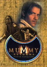 MUMMY RETURNS, THE 2001 INKWORKS PROMO CARD MR-3 SAN DIEGO COMIC CON