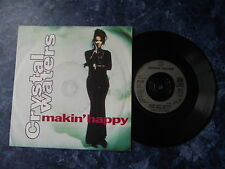 "Crystal Waters - Makin' Happy. 7"" vinyl single (7v1253)"
