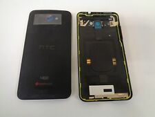 HTC Droid DNA 4GLTE Rear Battery Cover Housing Replacement (Black) 6435L