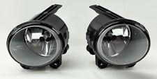 Euro Silver Housing Clear Front Fog lights w/ Bulbs FITS BMW X5 E53 2003-2006