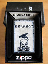 Zippo SAMCRO Sons of Anarchie SOA Craw Skull Reaper Crew Men of Mayhem Orig!!!