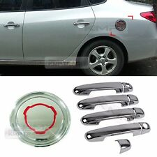 Chrome Window Accent Fuel Cap Cover Molding 10P For 2007-2010 HYUNDAI Elantra HD