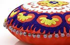 Suzani Cushion Cover Cotton Pillow Cases Round Pom Pom Lace Throw Pillows Shams
