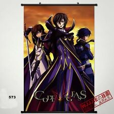 Japan Anime Home Code Geass Lelouch Vi Britannia  POSTER WALl Scroll painting