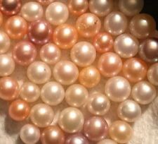 Akoya Pearls, Loose, Pink, White, Peach, Cream You Choose Color