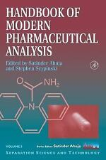 Handbook of Modern Pharmaceutical Analysis (Separation Science and Tec-ExLibrary