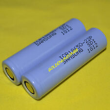 2X Samsung ICR 18650 22P 2200mAh 3.7V Li-ion 10A high rate discharge battery