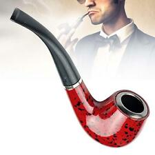 New Wooden Enchase Smoking Durable Pipe Tobacco Cigarettes Cigar Pipes Gift AB