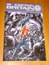 CAPTAIN BRITAIN AND MI13 HELL COMES TO BIRMINGHAM VOL 2 MARVEL   9780785133452