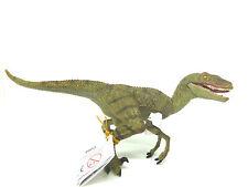 Q15)  PAPO (55058)  Velociraptor grün Dino Dinosaurier Saurier Urtiere