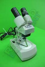 Boreal 55728-02 Student Stereo Microscope with Reversible Stage Plate W10X/20