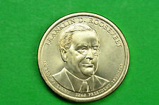 2014-P  BU Mint State  ( Franklin D Roosevelt ) US  Presidential One Dollar Coin