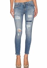 NWT CURRENT ELLIOTT Sz27 THE STILETTO CROP SKINNY STRETCH-JEANS VIN NY REPA $288