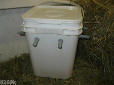 goat kid , lamb milk feeder nurse bucket