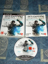 PS3 : RED FACTION : ARMAGEDDON - Come nuovo! Completo, ITA