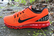 Nike Air Max + 2013 Shoe size 8.5  554886-801 Mens Total Crimson/White/Black