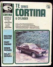 Cortina 6 Cylinder Workshop Manual DIY 1977 1979 Ghia Sedans & Wagons L - GL