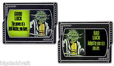 New Disney Pin Good Luck Bad Luck Star Wars Weekend Master Jedi Yoda LE 1000 May