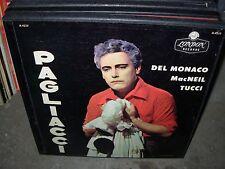 PRADELLI / DEL MONACO / LEONCAVALLO pagliacci ( classical ) 2lp box london 4237