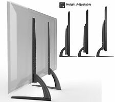 "HTA327 Universal Table Top TV Stand Legs for LED/LCD 37""-65"" Height Adjustable"