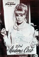 P003 THE ART OF LOVE signed German program '65 by Elke Sommer