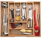 Kitchen Utensil - Cutlery and Utility Drawer Organizer Cabinet Drawers Knives