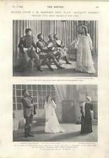 1901 More Scenes From Jm Barrie's New Play Quality Street