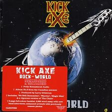 KICK AXE - ROCK THE WORLD - ROCK CANDY REMASTERED EDITION - CD