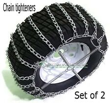 Tire chain tighteners ATV garden tractor lawn mower set of 2