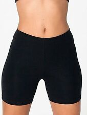 "Ladies Cycle Shorts BLACK sz L (34-36"" Waist) Cotton/Elastane UK Made NEW"