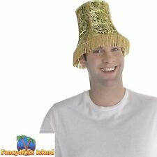 FUNNY LAMP SHADE NOVELTY HAT - mens womens fancy dress costume accessory