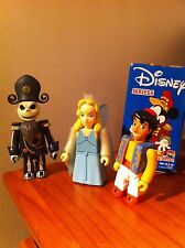 Rare Medicom Kubrick Disney series 6, 3 figures with rare NBX Jack Skelington !!