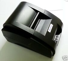 High speed black USB Port  58mm Thermal printer POS receipt bill cash printer