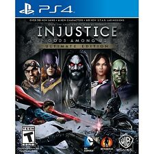 Injustice: Gods Among Us - Ultimate Edition (Playstation 4 PS4 DC COMICS) NEW