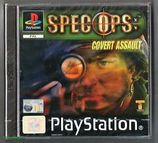 PS1 Spec Ops Covert Assault, UK Pal 2001, Brand New & Factory Sealed