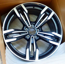 "BMW F12 F13 F06 M6 OEM Genuine Style 433 20"" M Double Spoke Wheels Gloss Turned"