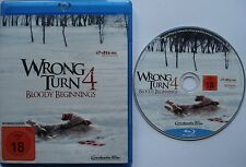 WRONG TURN 4  __  BLOODY BEGINNINGS  __    [Blu-Ray]  __  FSK 18 mit Wendecover
