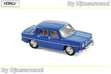 Renault 8 GORDINI de 1966 Bleu de France Blue NOREV - NO 512792 - Echelle 1/87