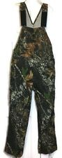 Russell Outdoors Camouflage Bib Overalls Small Cargo Mossy Oak Hunting Camo