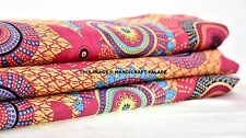 Indian Decorative Printed Sewing Polka Dot Fabric Craft Material By The Yard