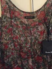 Silk Dress From Massimo Dutti - UK 16 EUR 44 BNWT